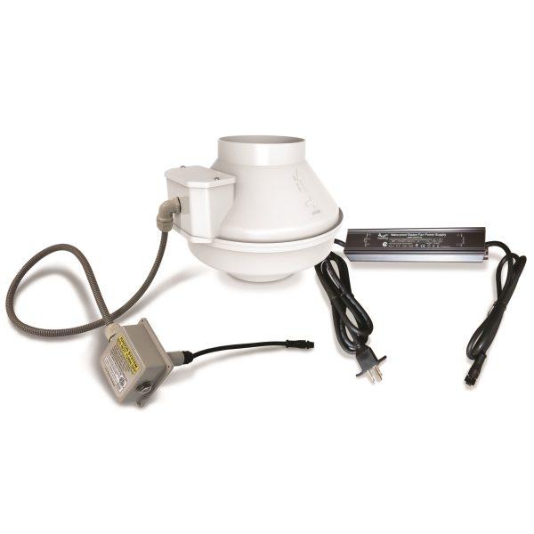 Pt4 low voltage radon fan